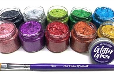 Art Factory Glitter Glaze - Set of all 10