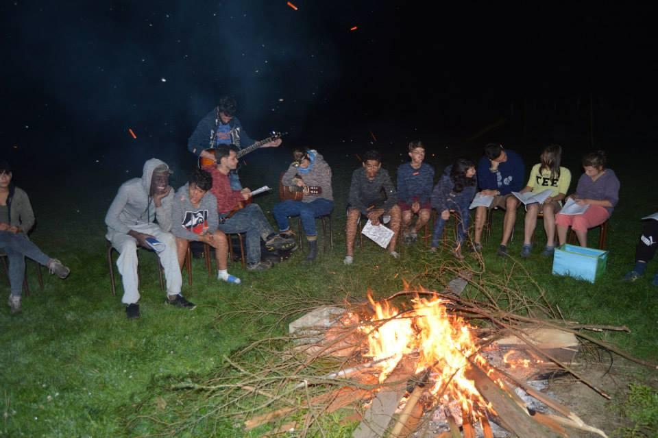 Veillée au coin du feu