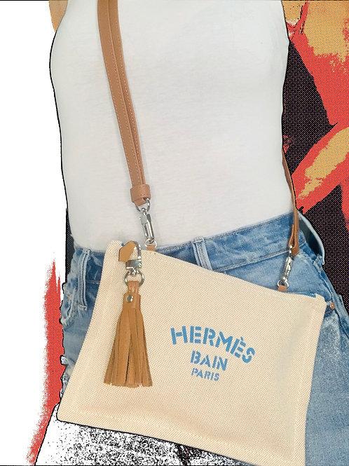 LCR Hermes Bain yacht  Medium pouch/two way cross-body-wristlet