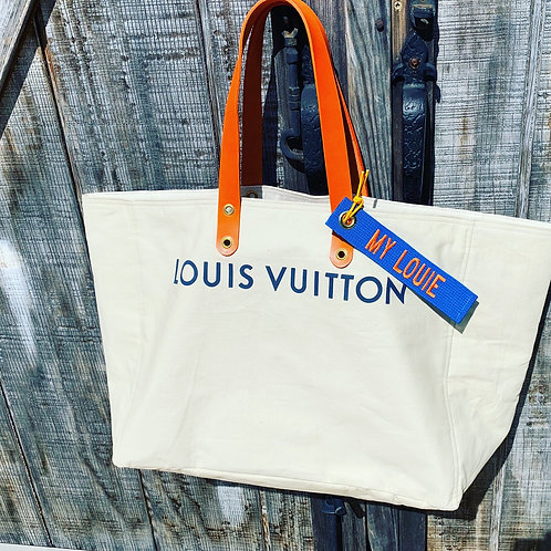 Pre-order LCR  Louis Vuitton up-cycled canvas tote