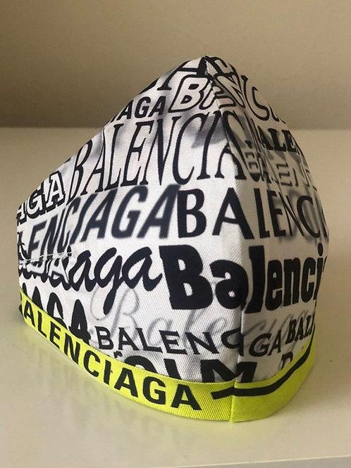Balenciaga Up-Cycle Scarf Custom-Made Mask