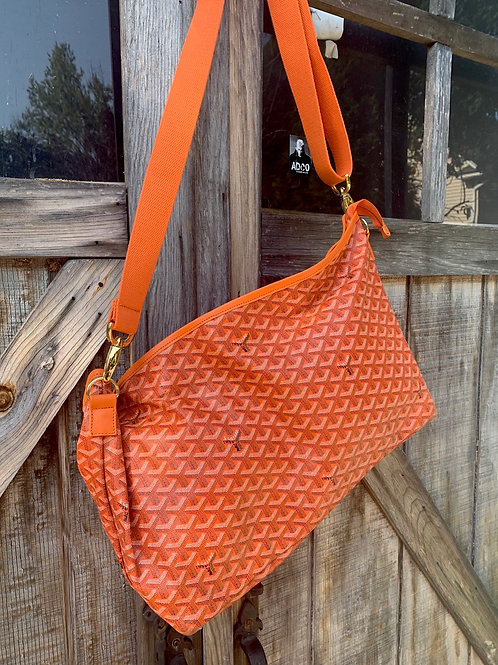 Goyard Custom Altered Messenger Bag