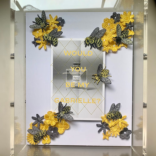 Custom Chanel Gabrielle Acrylic Wall Art