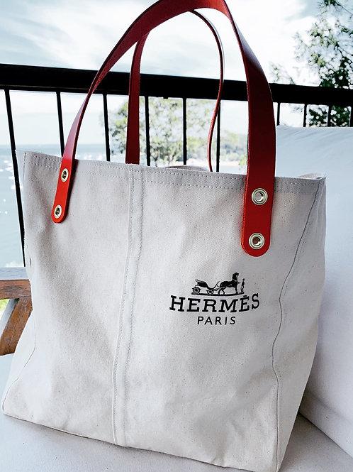 Up-cycle Hermes Garment bag tote