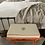 Thumbnail: Up-cycle Hermes dustbag bamboo accent bench