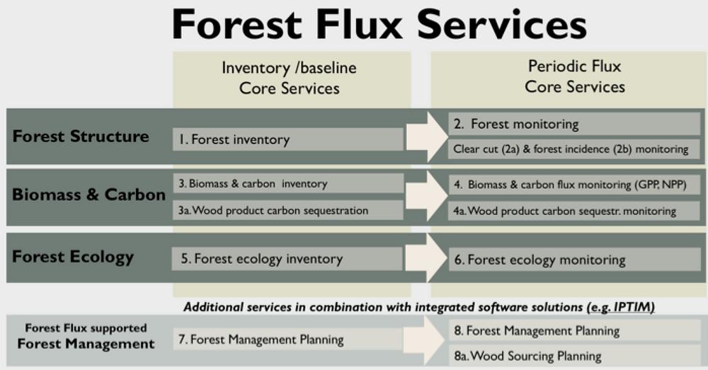 Description of Forest Flux Services