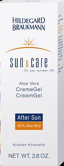 SUN & CARE Aloe Vera CremeGel