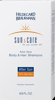 SUN & CARE Aloe Vera Body & Hair Shampoo