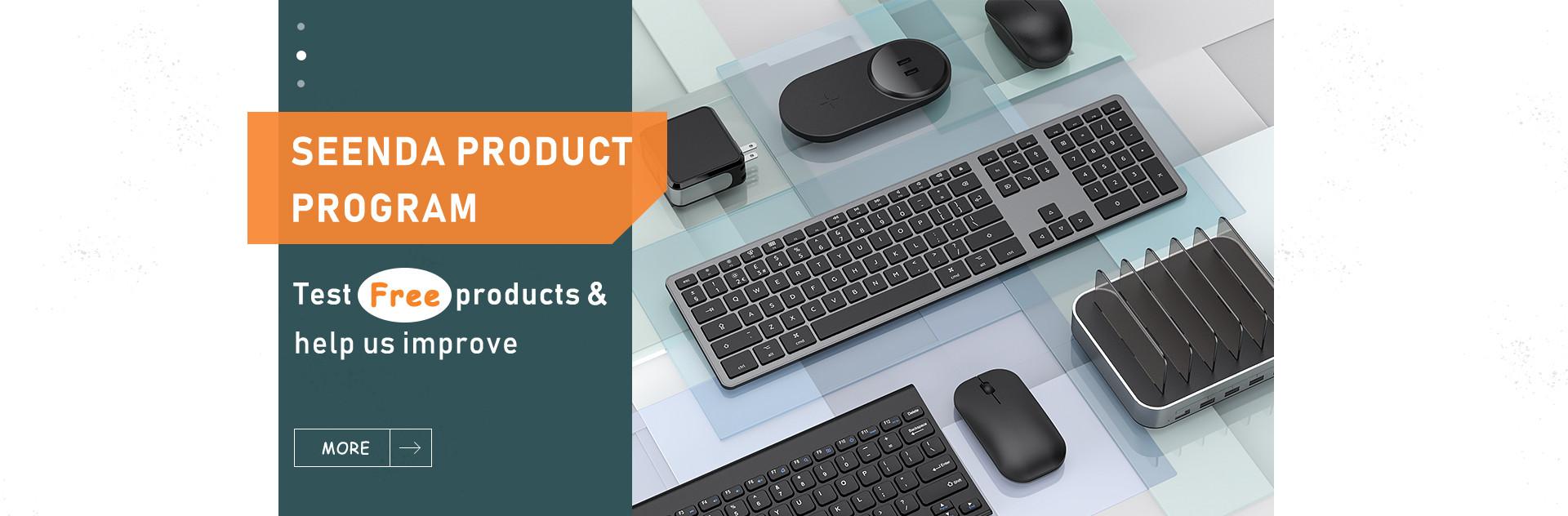 Seenda product program