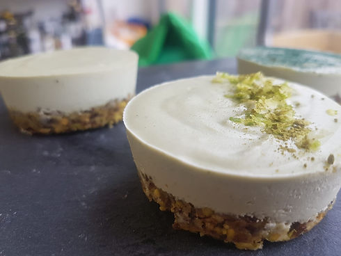 Vegan Matcha Cheesecake