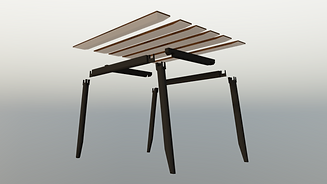 Linnhe Dining Table - opaque background
