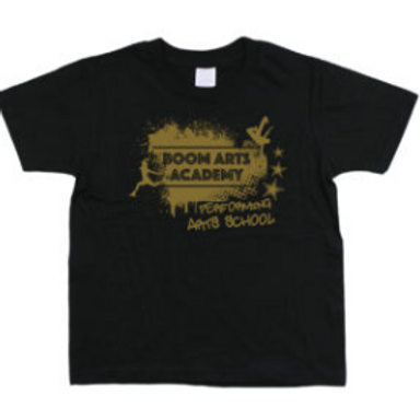 Boom Arts Academy Gold Logo Kids Fit T-shirt