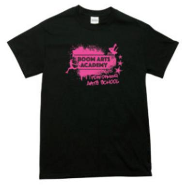 Boom Arts Academy Mens Fit T-Shirt