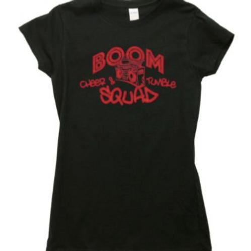 Boom Cheer Squad Ladies Fit T-Shirt