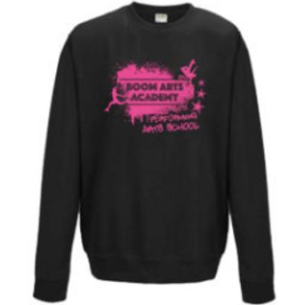 Boom Arts Academy Pink Logo Unisex Sweatshirt