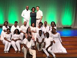 The Cast of _The Color of Green_
