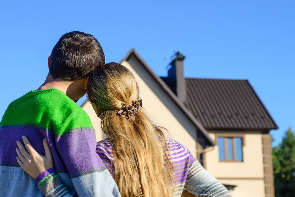 Young Couple FIrst Time Home Buyers