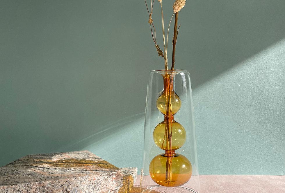 CORE - Double layer transparent vase