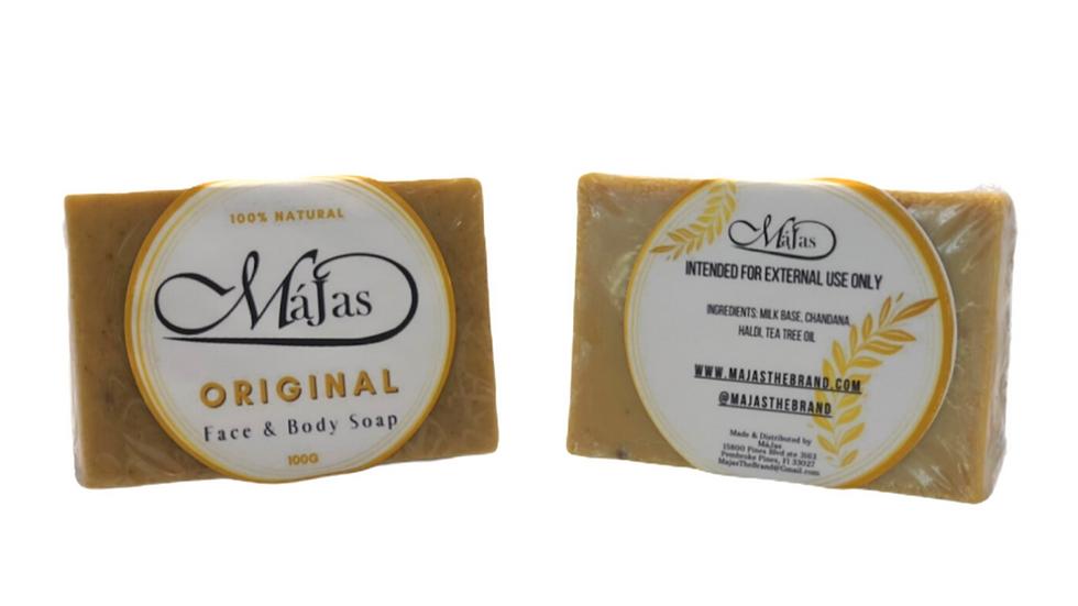 MaJas Original Face & Body Soap