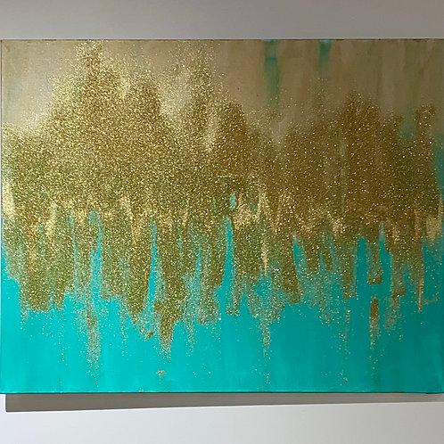 Glittered In Gold