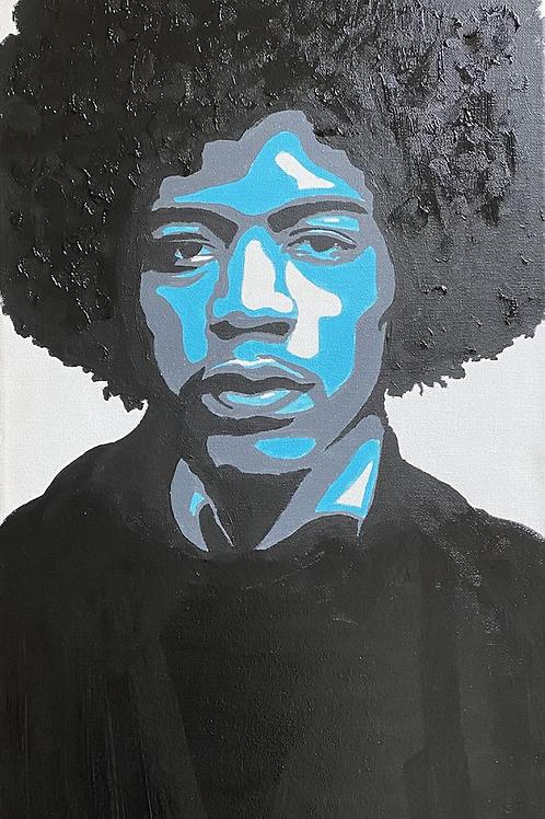 Jimi Hendrix (Pop Art)