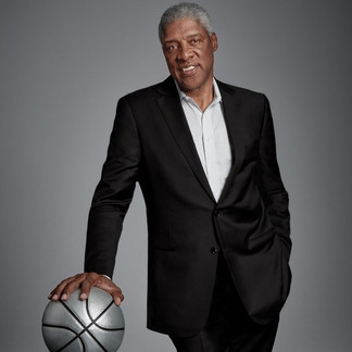 """Julius Erving II, commonly known by """"Dr. J"""", is an American basketball player who popularized a style of leaping above the rim."""