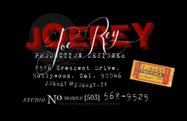Director & Production Designer for hit making, chart topping content. JoeRey.tv