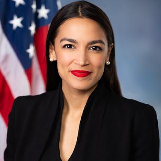 Alexandria Ocasio-Cortez, aka AOC, is an American politician serving as the U.S. Representative for N.Y..