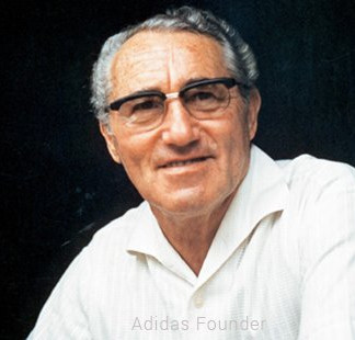 """Adolf """"Adi"""" Dassler was a German cobbler, inventor and entrepreneur who founded the German sportswear company Adidas."""
