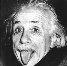 Albert Einstein was a German-born theoretical physicist who developed the theory of relativity, one of the two pillars of modern physics.
