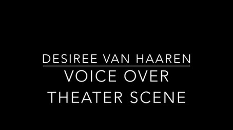 Voice-over Desiree van Haaren