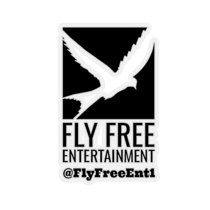 Fly Free Entertainment-Cutout Stickers