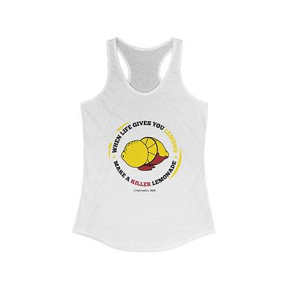 Women's Racerback Tank (Circular Logo)