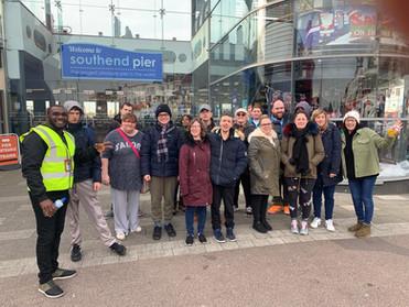 Sponsored walk to Southend Pier