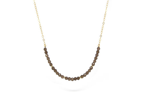 Smokey Quartz Imogen necklace