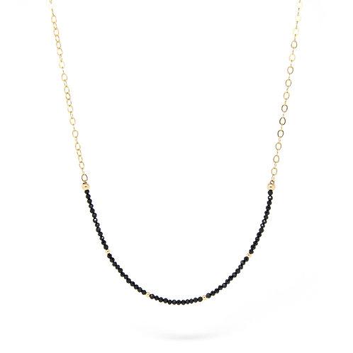 Black Spinel Imogen necklace