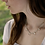 Thumbnail: Green Amethyst gemstone necklace