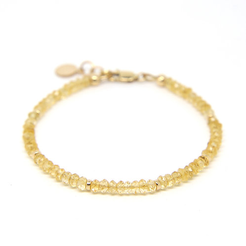Citrine Portia bracelet