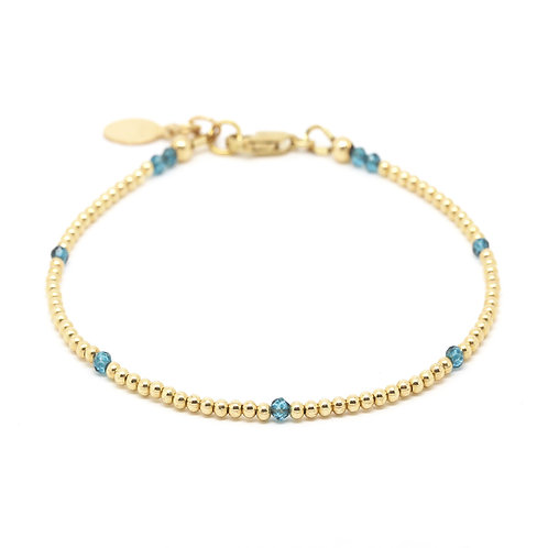 London Blue Topaz Ophelia bracelet