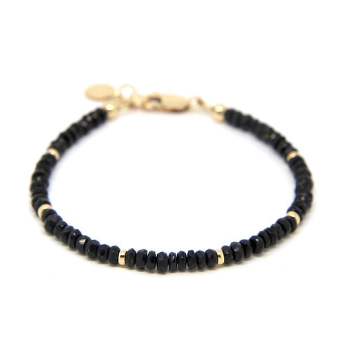 Black Spinel Portia bracelet