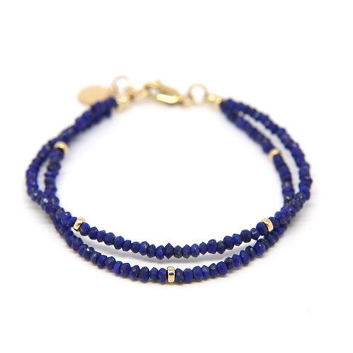 Lapis lazuli Viola bracelet