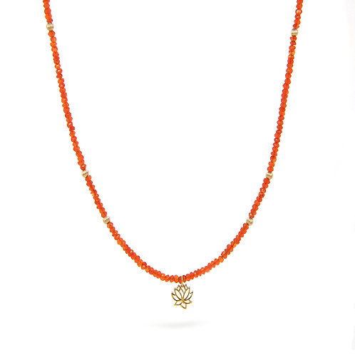 Carnelian Tamora necklace