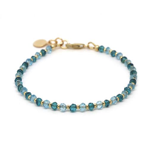 Sky Blue Topaz and London Blue Topaz Cressida bracelet