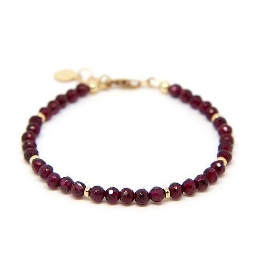 Garnet Portia bracelet