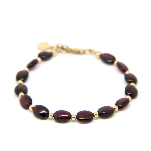 Garnet Juliet bracelet