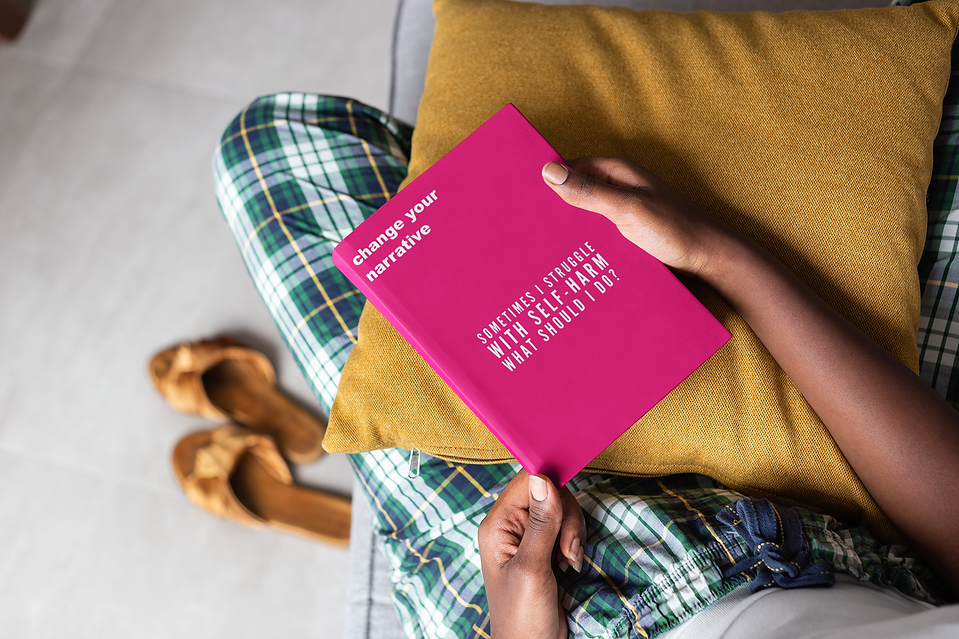mockup-of-a-book-held-by-a-woman-s-hands