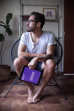ipad-mockup-featuring-a-man-sitting-on-a