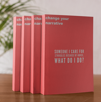 four-books-mockup-standing-on-a-wooden-t