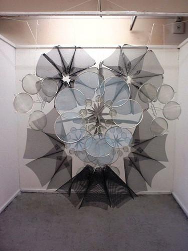 Grey Mas, Mixed media sculpture, 2011