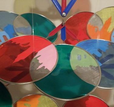 Cosmopolitan Carnival, Mixed media sculpture and shadow installation, 2012
